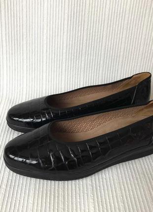 3523 туфлі gabor g7/ 40-39,5 шкіра нові сток3 фото
