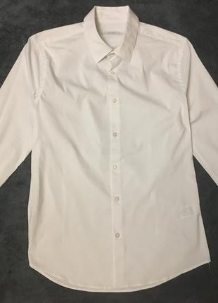 Рубашка colin's с длинными рукавами белая свадьба выпускной нарядная сорочка біла весільна