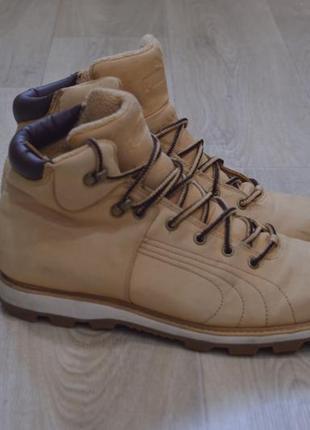 Мужские ботинки зимние пума оригинал