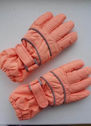 Термо перчатки 18-24 м 1,5-2года, краги рукавицы непромокаемые