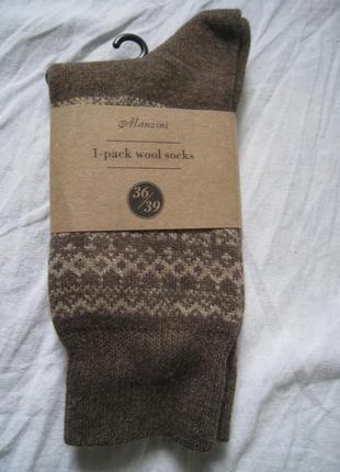 Крутые дизайнерские шерстяные носки manzini, италия, оригинал!!!