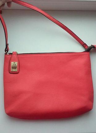 Красивая сумка на интересной застежке graceland сумка кросс боди