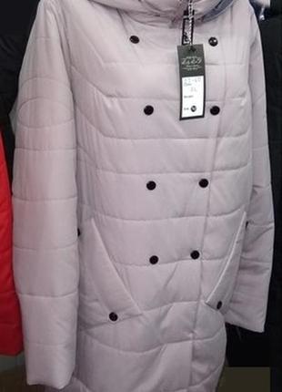 Пальто дэми ,стильное ,удобное,.цвета  42по 56.