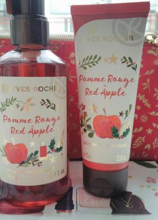 Новогодний набор красное яблоко ив роше