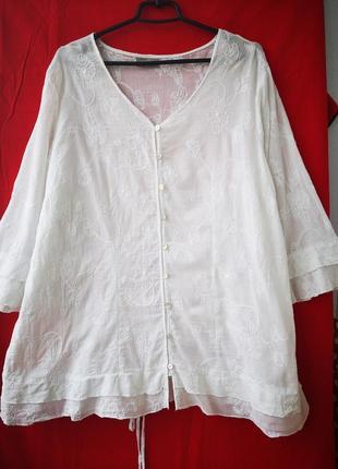 Легкая хлопковая блузочка
