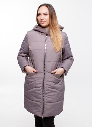 Пальто ,шикарное качество ,отлично на теле! 42-56.