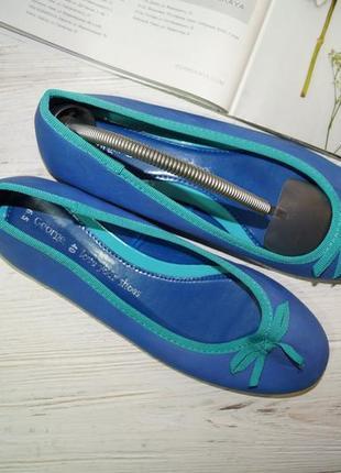 George! яркие летние туфли, балетки3 фото