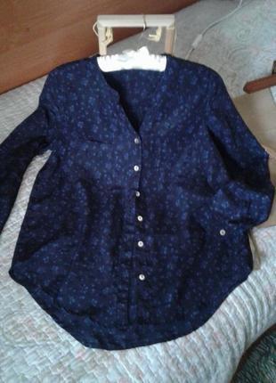 Блуза рубашка весенне- осенняя