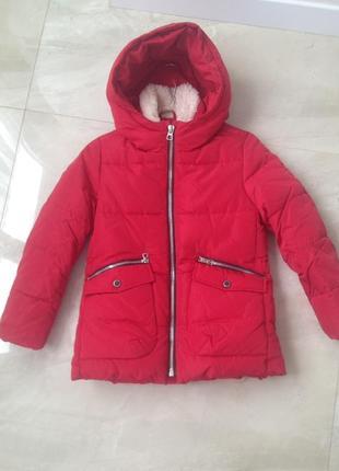 Куртка зимняя пуховик zara