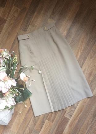 Серая юбка в складку stmichael