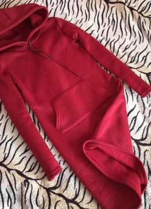 Худи кофта толстовка куртка свитер тёплое платье