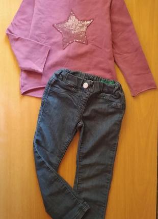 Стильний комплектик для модниці на 4рочки, united colores of benetton, виробництво іспанія