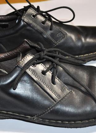 Туфли кожаные стильные мужские  picolinos