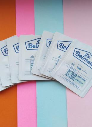 Успокаивающий крем-гель dr.belmeur repair panthenol soothing gel cream пробник корея