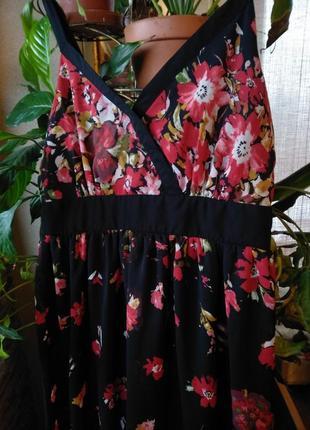 Длинный шифоновый сарвфан , платье george.2 фото