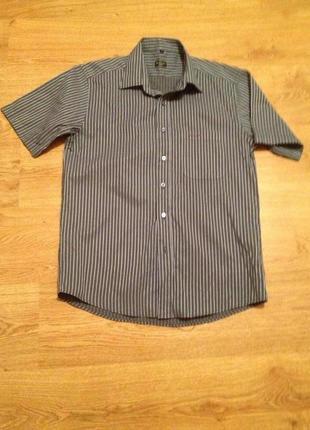 Стильная летняя рубашка в полоску / paul smith / l