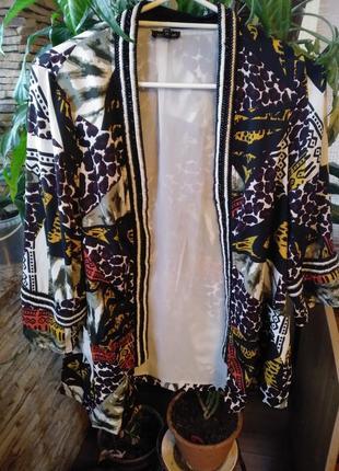 Яркий пиджак, кардиган , накидка river island (индия).