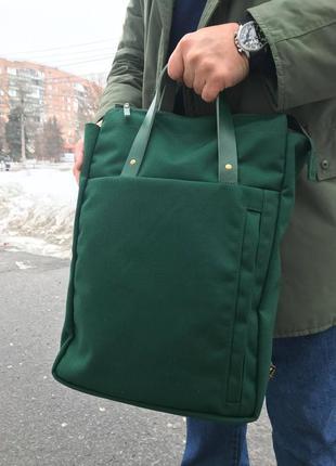 """Сумка-рюкзак для ноутбука """"suma""""3 фото"""