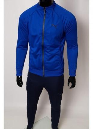 Костюм спортивный мужской pm 8999-19 сакс с синим
