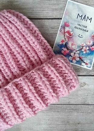 Sale! новая базовая объемная шапка /вязаная шапка ручной работы