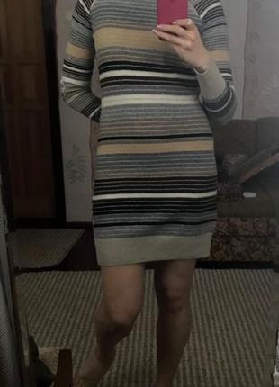 Шикарное теплое платье max & сo, размер м