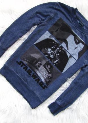 Стильная кофта свитер george star wars