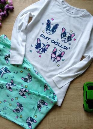 Пижама primark для девочки