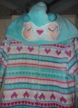 Кигуруми пижама слип совушка 6-7 лет