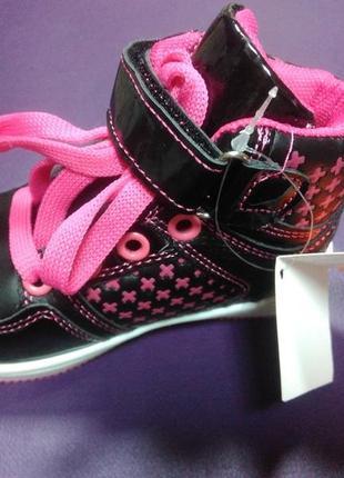 Ботинки 21 р. boyang на девочку, кеды, высокие, кроссовки, спортивные, хайтопы3