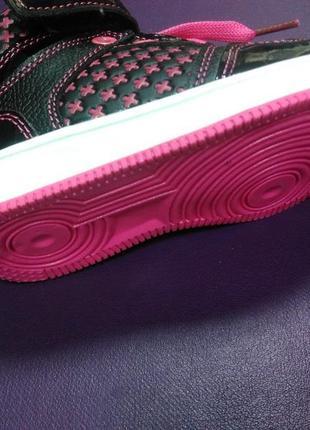Ботинки 21 р. boyang на девочку, кеды, высокие, кроссовки, спортивные, хайтопы5