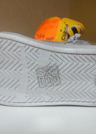 Демисезонные ботинки 23 р. clibee на девочку, кроссовки, осень, высокие, хайтопы, синие3