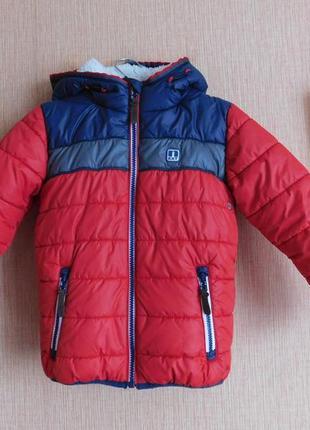 Куртка еврозима next на 5-6 лет, рост 116 см