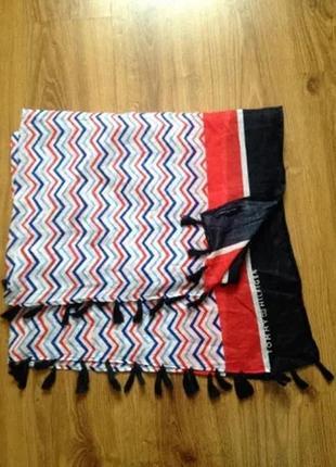 Модный женский платок шарф tommy hilfiger