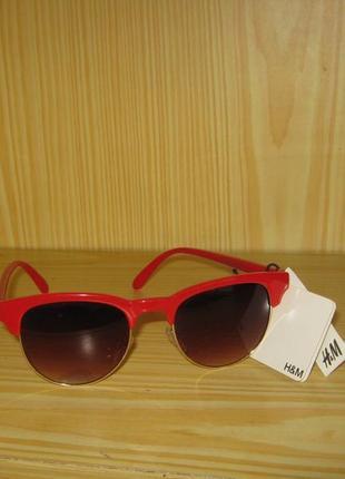 Солнцезащитные очки очки броулайнеры browline h&m  uv 400 новые, из германии