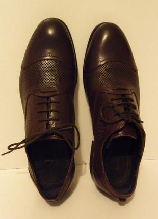 Туфли мужские осень