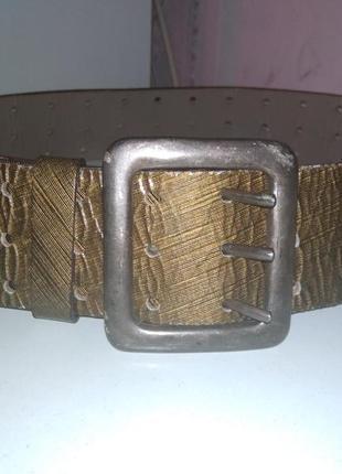 Кожаный ремень jean paul gaultier