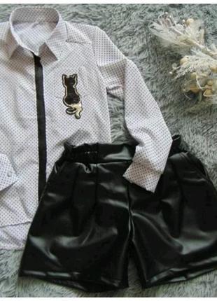 Комплект: шорты и блуза