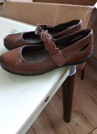 Шкіряні туфлі на дівчинку footglove