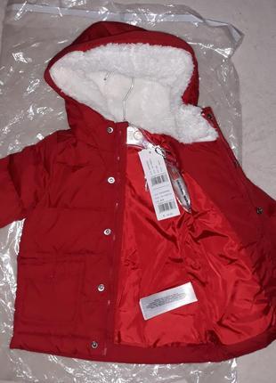 Куртка унисекс на 6-9 мес. original marines. италия.