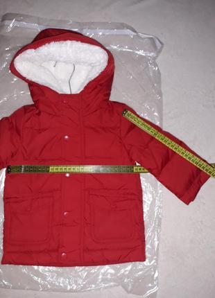 Куртка унисекс на 6-9 мес. original marines. италия.3 фото