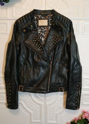 Демисезонная утепленная куртка-косуха vs.miss, s/xs