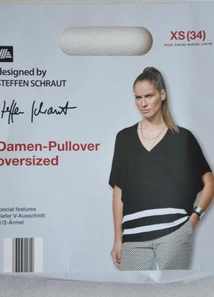 Пуловер свитер оверсайз с кашемиром 46-50 германия designed by steffen schraut