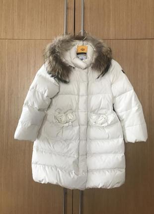 Детское пуховое пальто il gufo