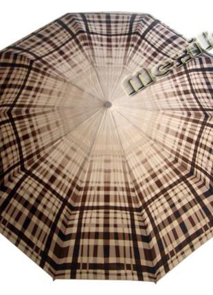 Модный зонт zest полуавтомат 10 спиц. расцветка сантия