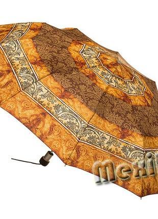 Модный зонт zest полуавтомат 10 спиц. расцветка адилин