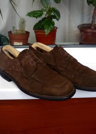 """Замшевые туфли премиум класса """"lloyd"""". германия! 43 р."""