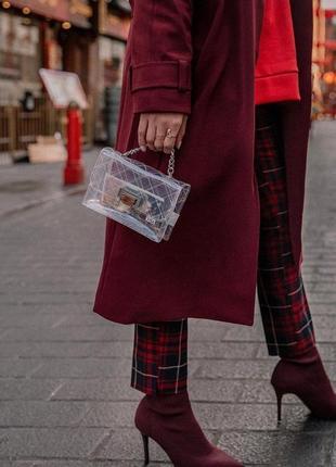 Новая эффектная сумка из винила