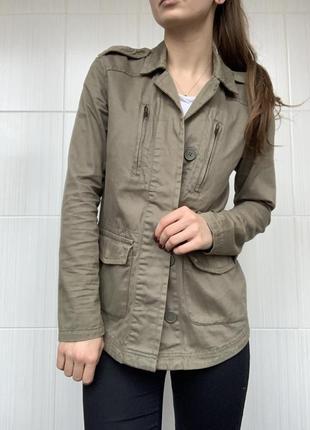 Модная куртка / парка цвета хаки от new look