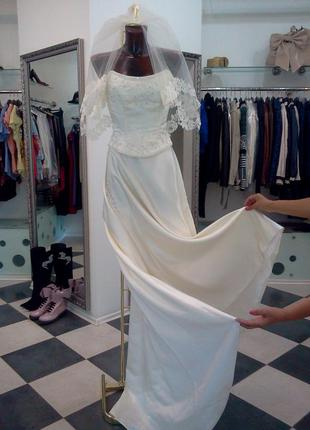 Свадебное платье tomy mariage оригинал франция