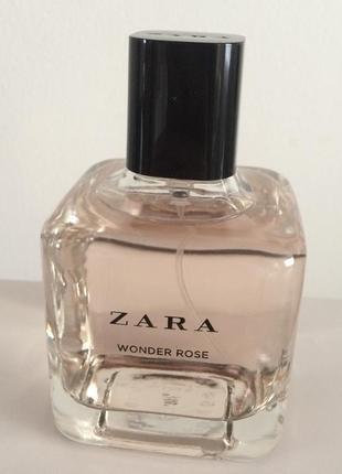 Zara wonder rose 100 ml мл духи парфюм туалетная вода